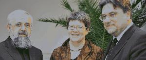 Die drei leitenden Geistlichen der christlichen Kirchen in Sachsen-Anhalt