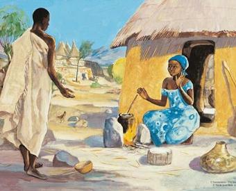 Afrika und Maria