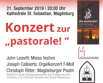 """Uraufführung """"Magdeburger Psalm"""""""