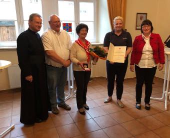 Malteser Verdienstplakette verliehen