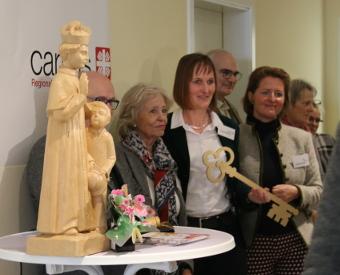 Mattisburg an Caritas übergeben