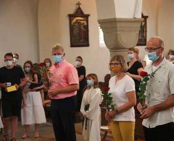 Teamsegnung mit neuer Orgel